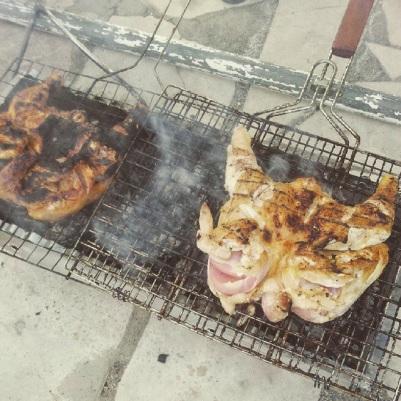 FatSu A'Saffa chicken BBQ challenge grill