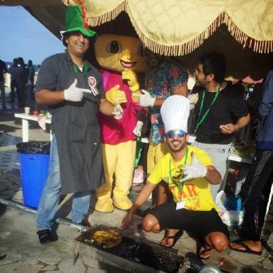 FatSu A'Saffa chicken BBQ challenge Muscat