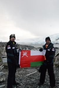 Freezing Omanis - Antarctica 3