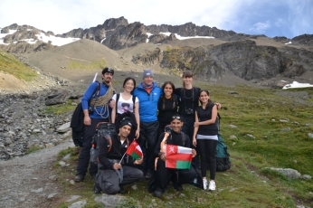 Freezing Omanis - Mt. Martial Glacier 3